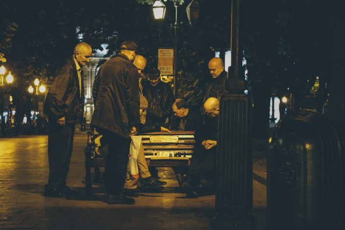 STREET CHESS LVIV-UKRAINE